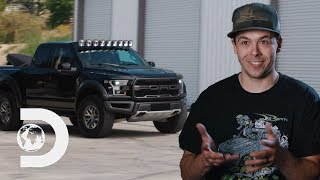 Brad And Doug Combine Two Pickups Into One Transformer Truck | Twin Turbos