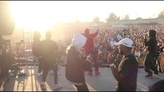 TDE Christmas Concert In Watts!! ||