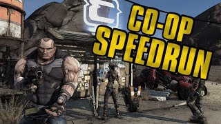 Borderlands Co-Op Speedrun in 1:21:29