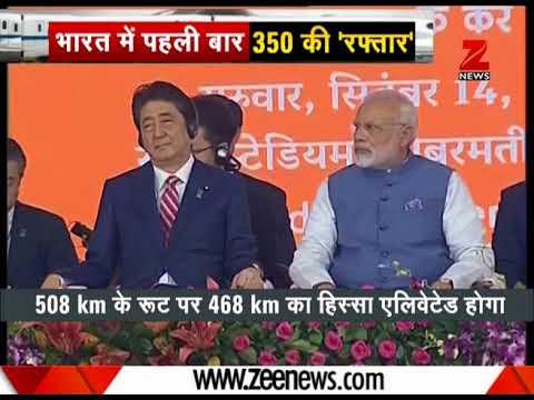 PM Modi, Shinzo Abe launch historic Ahmedabad-Mumbai bullet train project