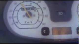 Динамика разгона скутера LIfan 125