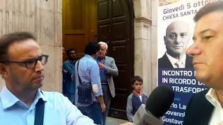05.10. 2017 Sergio Silvestris ricorda il sindaco Umberto Paternostro