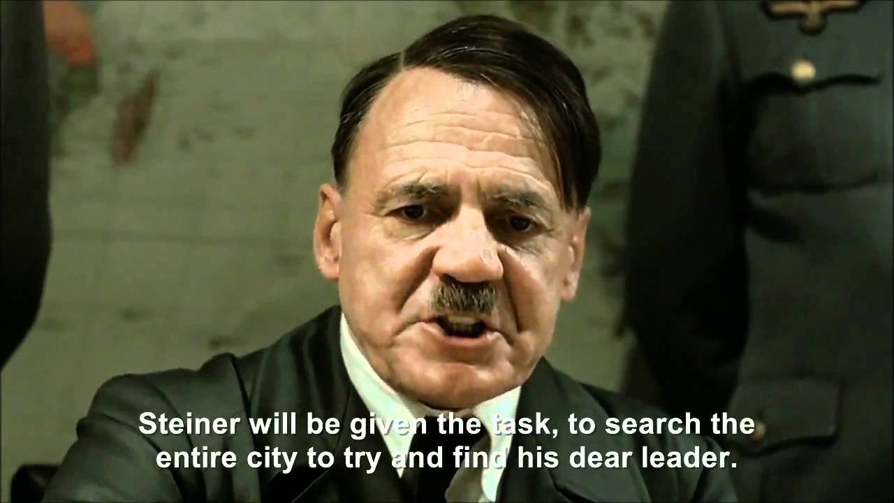 Hitler plans to find himself