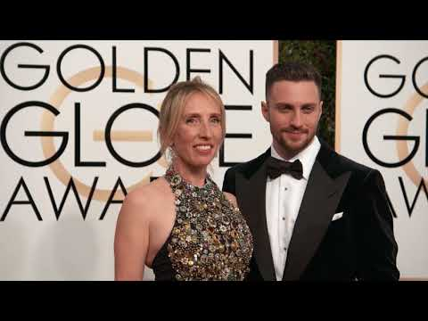 Aaron Taylor Johnson and Sam Taylor Johnson Fashion  Golden Globes 2017 1