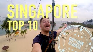 Singapore Travel Guide - Top 10 Things To Do (4K)