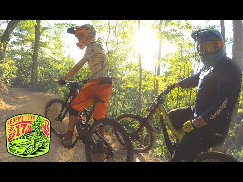 BADASS DH MTB AT BAILEYS!!!  Brian and I ride some full on Downhill  Redemption17   Ep. 16  
