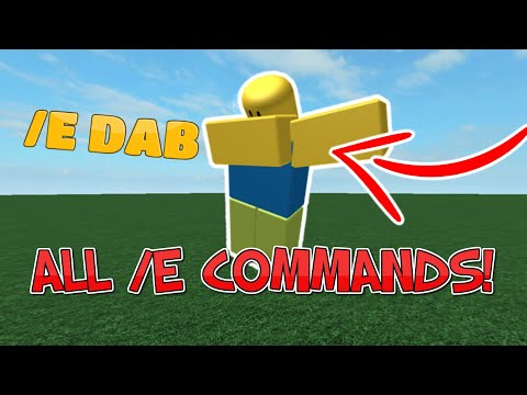 ALL /E COMMANDS IN ROBLOX! (WORKING 2020)