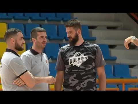 Reportaža RTCG III internacionalni košarkaški kamp Kolašin!