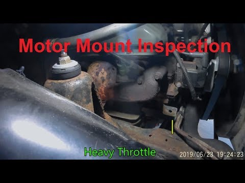 98 Ram 1500 Motor Mounts - Jolting / Jerking On Takeaway - Inspection