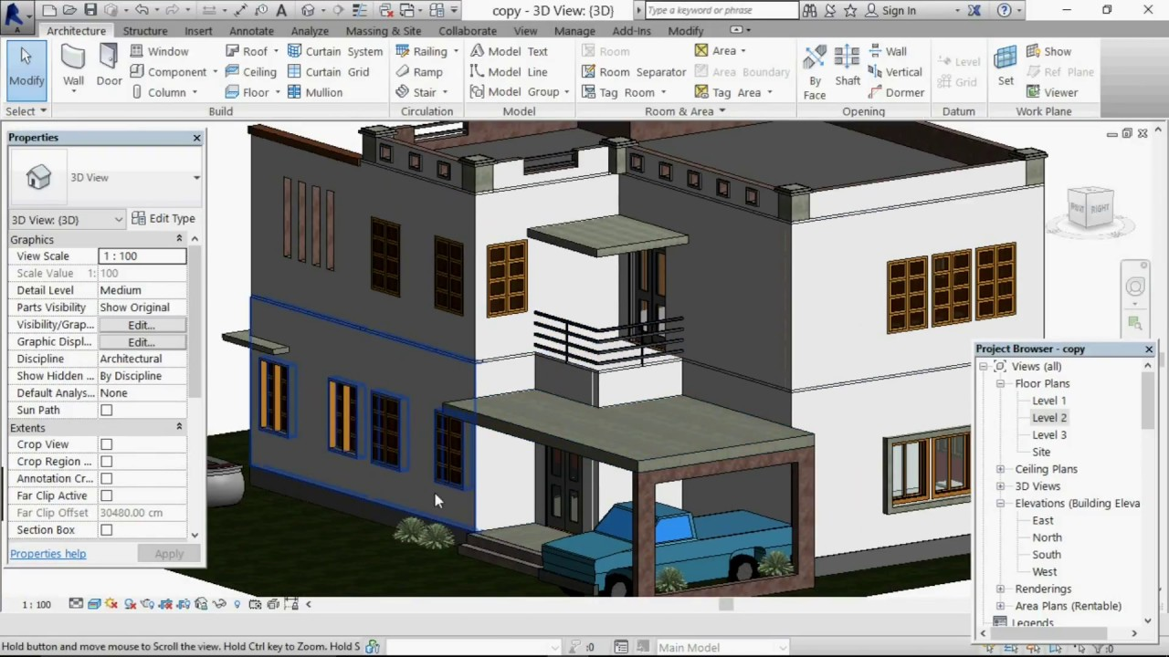 Superior Revit Tutorials | Revit Architecture 2016 | Tutorial For Beginners