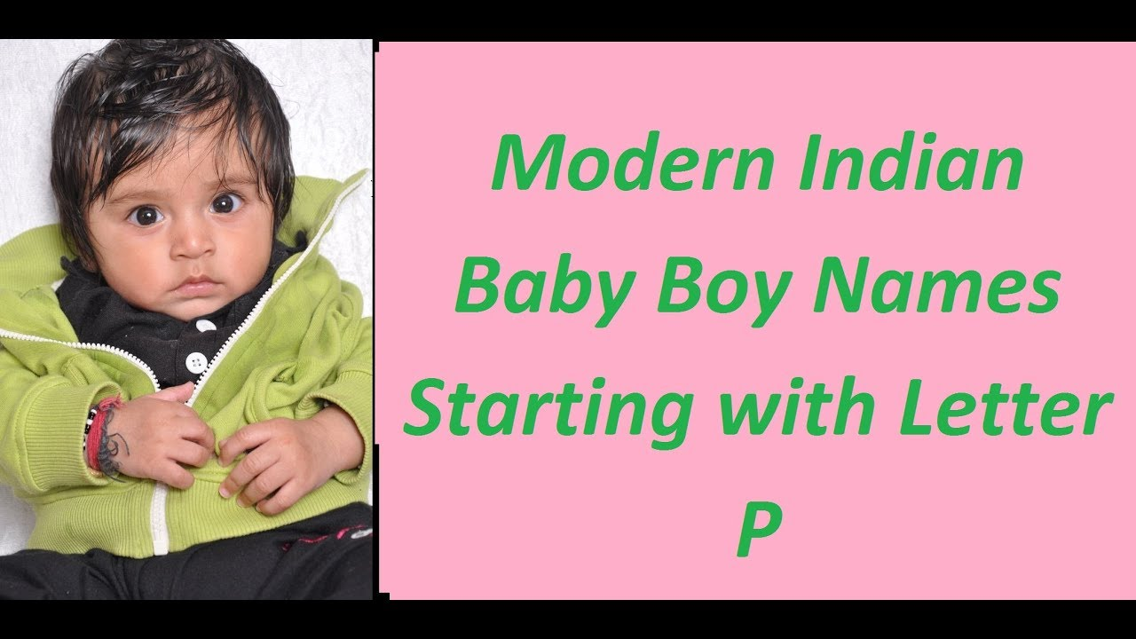 Modern indian baby boy names with r