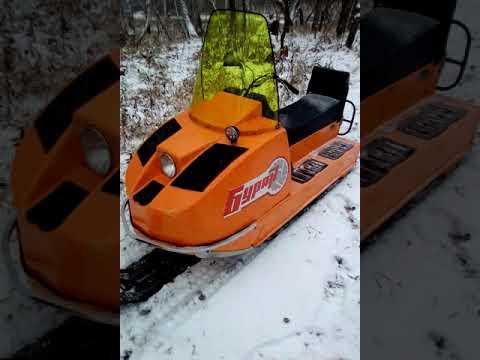 Испытание широкой лыжи на буран и обзор восстановленного бурана.