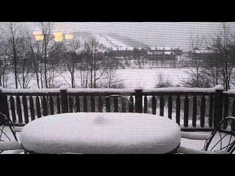 mountain view from house - 2013 ski trip