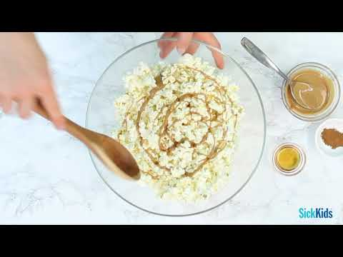 Party Popcorn - Three ways! [Centre for Healthy Active Kids Recipes]