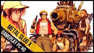 Metal Slug X Gameplay (PC HD) - Mission Mode