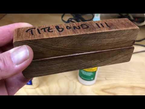 IPE Wood Glue Test