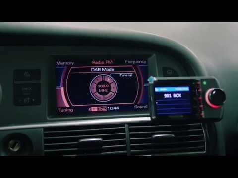 Montering av DAB radio i bilen