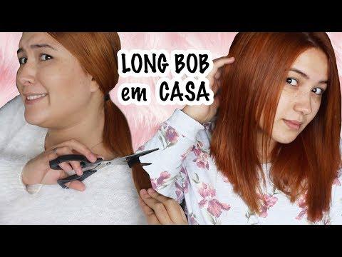 Corte Long Bob Em Casa Passo A Passo Youtube