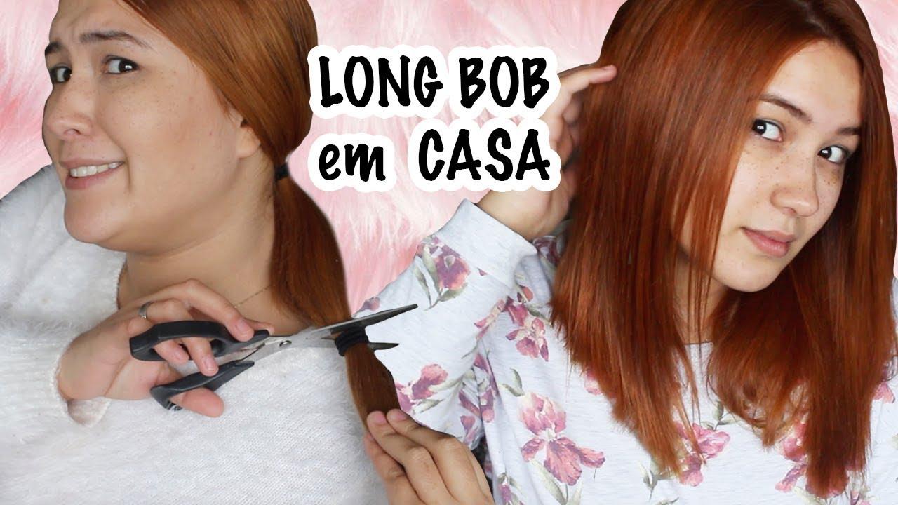Corte Long Bob Em Casa Passo A Passo