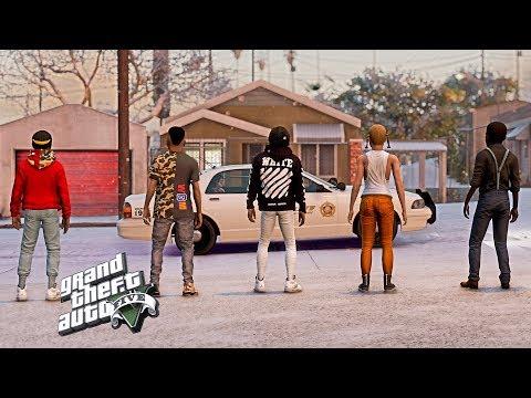 BAD KIDS ON THE BLOCK 9 (GTA 5 SKIT)