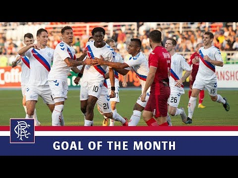 Rangers Goal Of The Month | August 2018 | Ovie Ejaria
