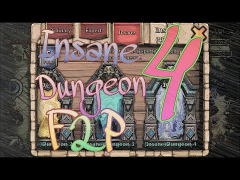 #4: Insane Dungeon 4-1/4-10 With F2P Heroes Only