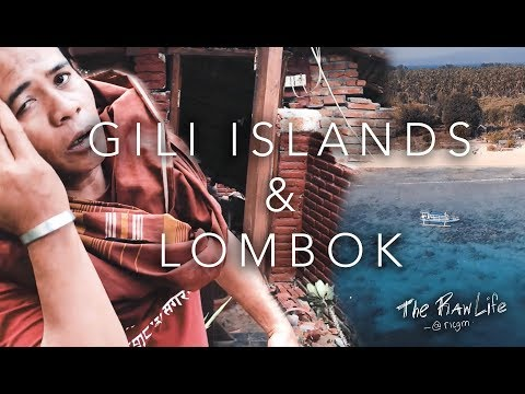 EARTHQUAKE IN INDONESIA...gili islands and lombok | EPISODE 3 | Bali Series | @RICGM