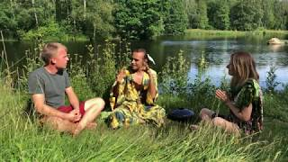 Prashant TriVedi in Sweden, Wellbeing and Connecting with Nature