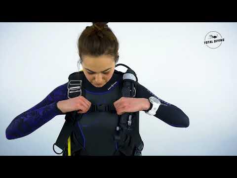 Apeks Black Ice Dive BCD - Total Diving - Montreal Scuba