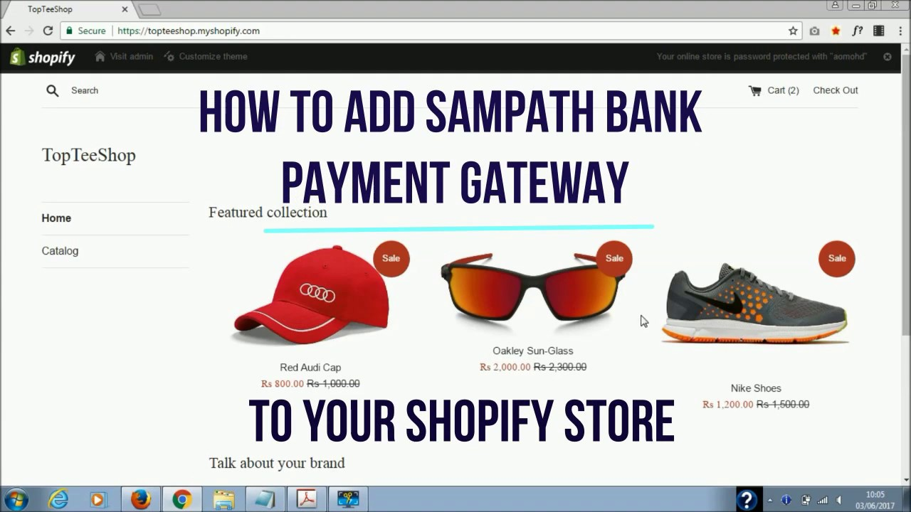 How to Add Sampath Bank Payment Gateway to Shopify Store