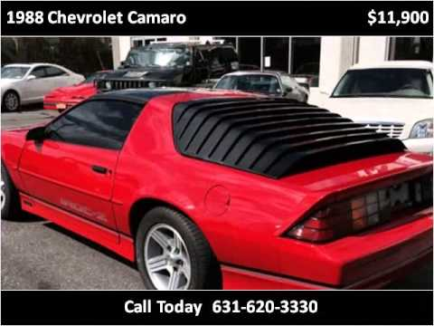 1988 chevrolet camaro used cars west babylon ny youtube for Hollywood motors west babylon