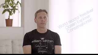 World-record Freediver William Winram on Intellectual Property and Sports