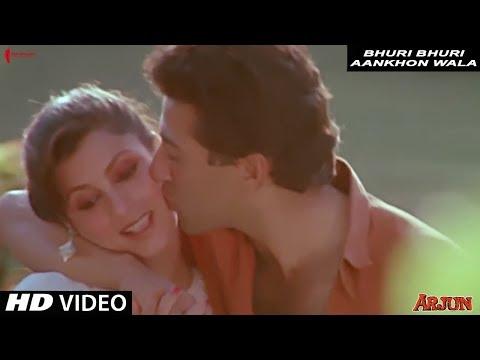 Bhuri Bhuri Aankhon Wala |  Lata Mangeshkar | Arjun | Full Song HD | Sunny Deol, Dimple Kapadia