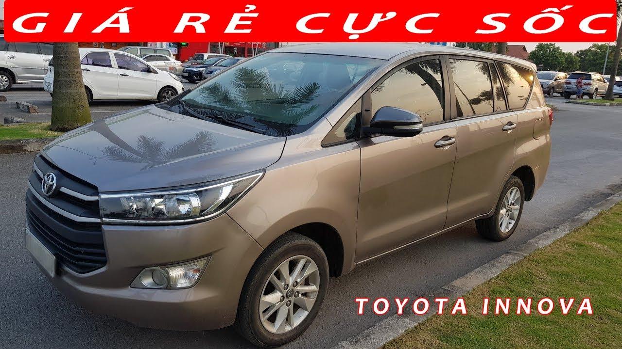 Bán xe Toyota Innova 2016 ô tô cũ 7 chỗ số sàn | SIÊU THỊ Ô TÔ CŨ