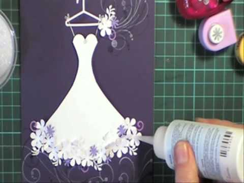 Wedding Dress card YouTube