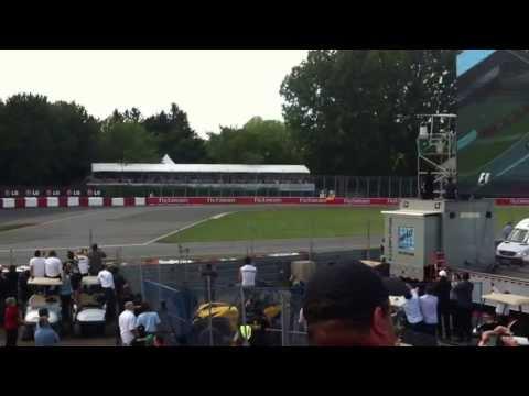2013 Formula 1 start Canada Montreal - pure sound HD