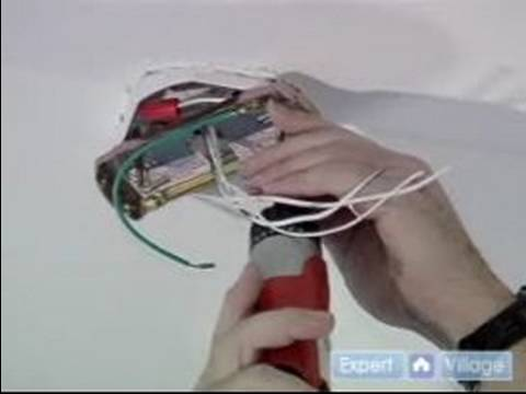 ... Install a Ceiling Fan : Mounting Brackets for a Ceiling Fan - YouTube