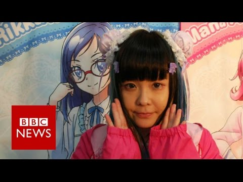 Living the anime lifestyle - BBC News