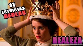 11 Estrictas  reglas que deberías seguir si fueses  de realeza