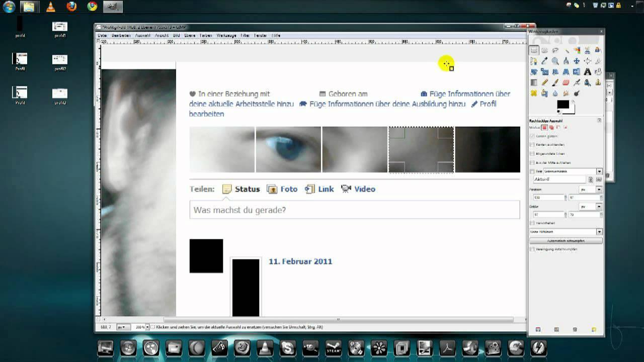 Großer Profilbanner Selbst Erstellen (ohne FB