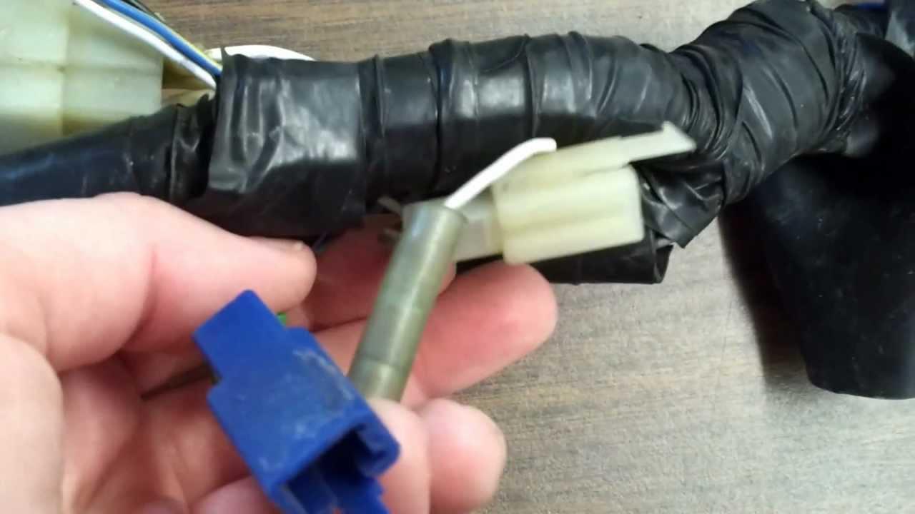 r6 wiring harness broken  YouTube