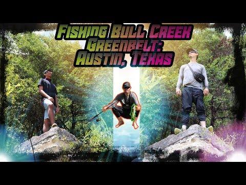 Fishing Bull Creek Greenbelt: Austin, Texas