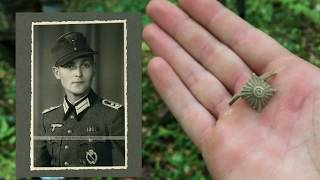 КОП по ВОЙНЕ. Смертный жетон сапера и кокарда Вермахта. Поиск на немецких позициях. Фильм 60.