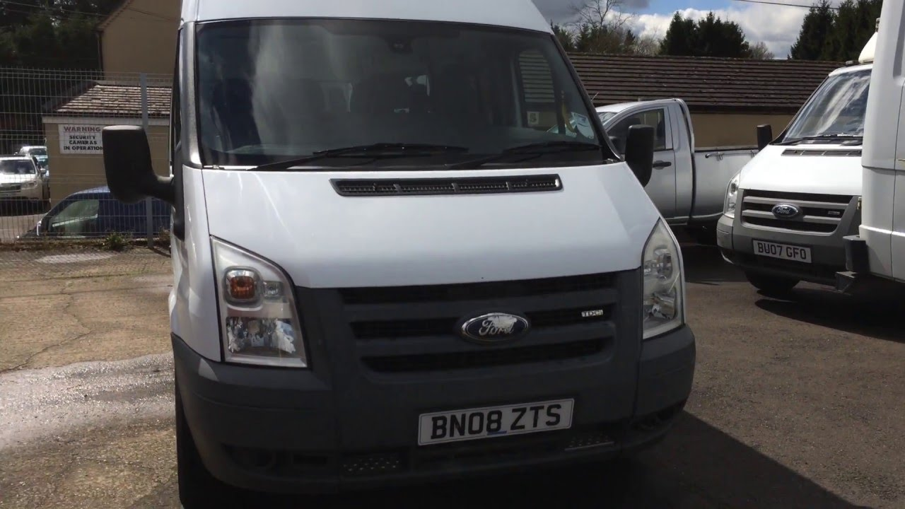medium resolution of 2008 ford transit crew van mpv review