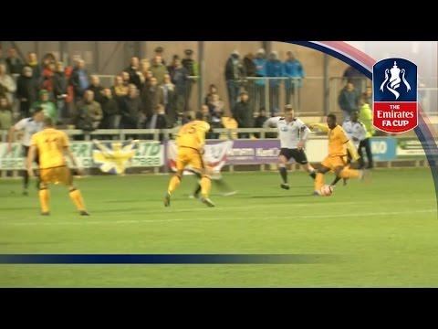 Dartford 3-6 Sutton United - Emirates FA Cup 2016/17 (R1) | Goals & Highlights