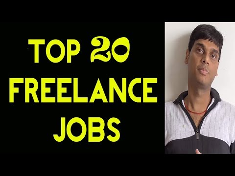 Top 20 Most Popular Freelance Jobs 2018 | Every freelancer muust watch | Helping abhi