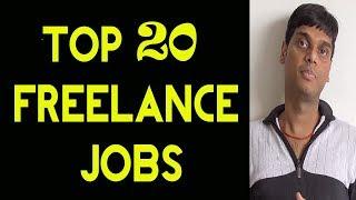 Top 20 Most Popular Freelance Jobs 2018 | Every freelancer muust watch | Helping abhi