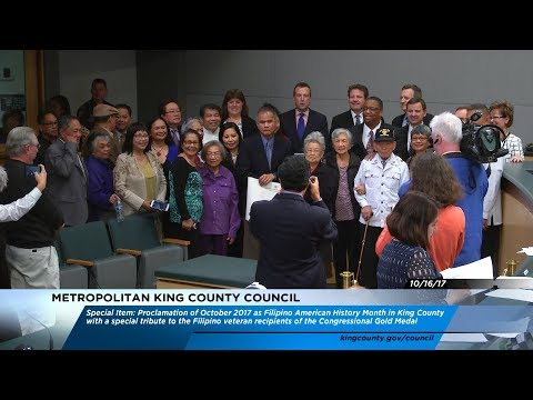 Recognizing Filipino American History Month