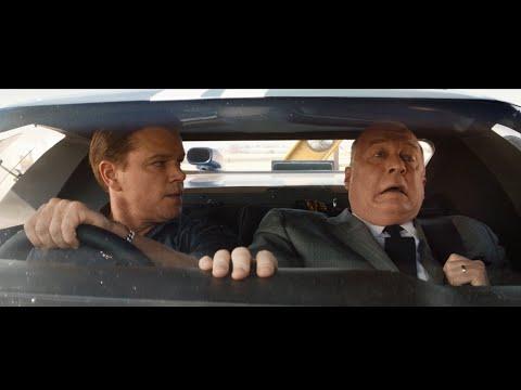 Кэрролл Шелби показывает машину Генри Форду | Форд против Ферари | момент из фильма