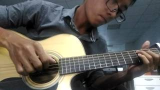 Ngỡ - Quang Hà (fingerstyle) covered by Athysirus